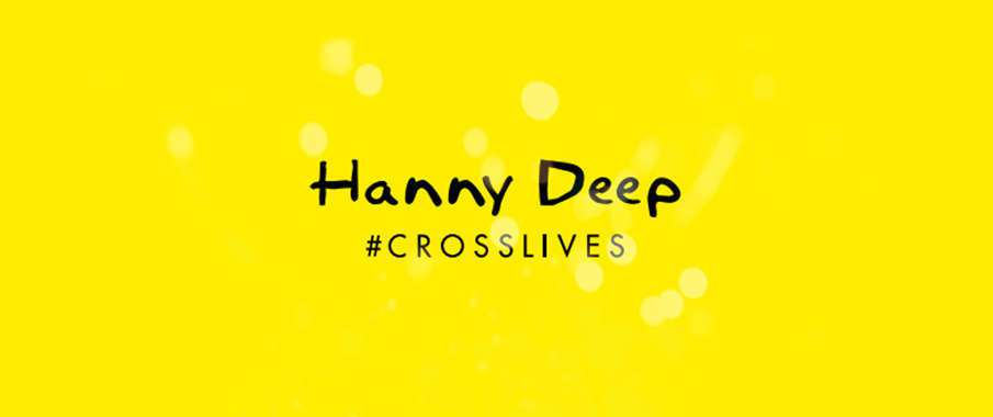 #crosslives: Anfisa Letyago for Hanny Deep Spring/Summer 2014