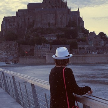 Mont Saint-Michel by night (Visita notturna, 1° tappa tour Normandia/Bretagna)