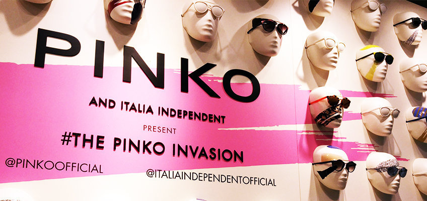 THE PINKO INVASION SS16 MFW – L'evento esclusivo firmato Italia Independent e Pinko