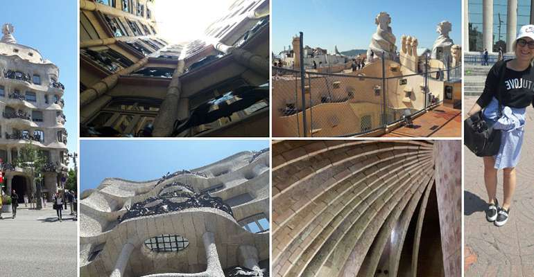 Casa Mila La Pedrera | Barcellona Day IV (Una camicia da uomo come gonna)