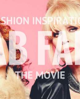 If you have seen this movie, you are familiar with all those outrageous and memorable outfits. Here you are some fashion inspiration from Ab Fab