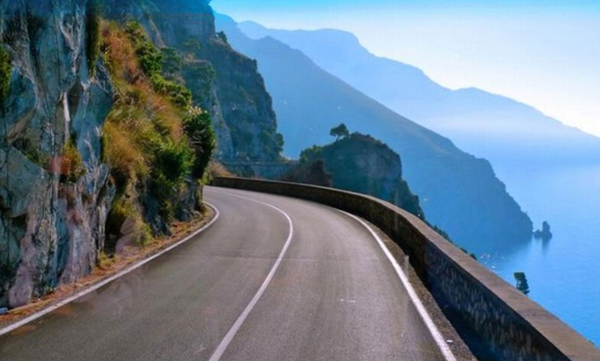 The Amalfi Coast Drive is among the 5 Best Road Trips In Italy