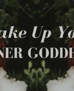 You're tired and streessed and you can't find peace. Can you find yourself again? How do you wake your inner goddess and let her shine through?