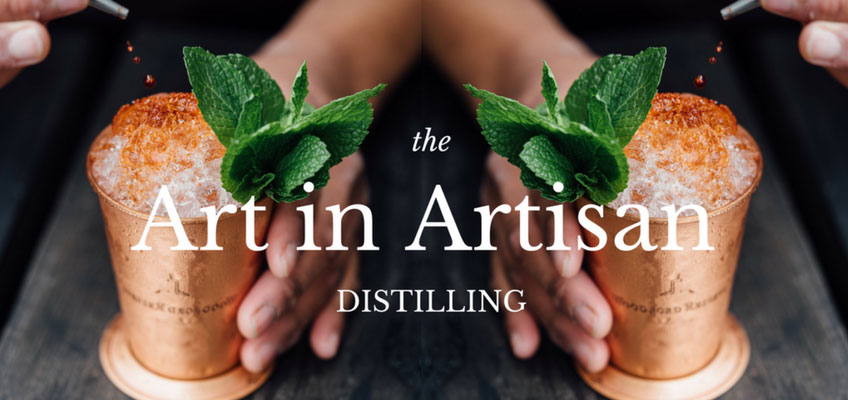 "The ""Art"" in Artisan Distilling – My way to be myself"