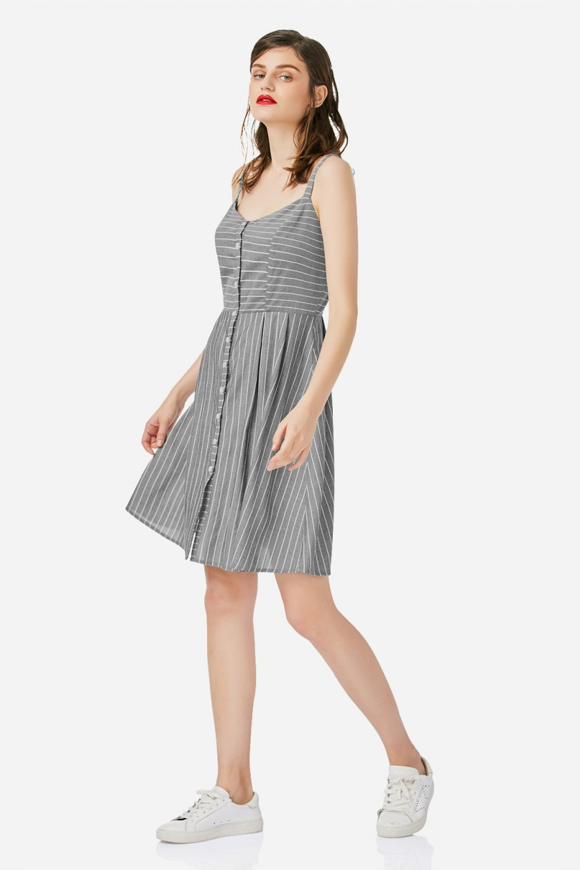 Summer 2017 must have from Zanstyle at Stylebest: striped mini dress