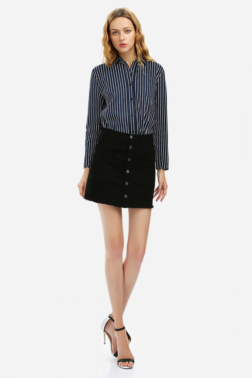 Summer 2017 must have from Zanstyle at Stylebest: A-line mini skirt