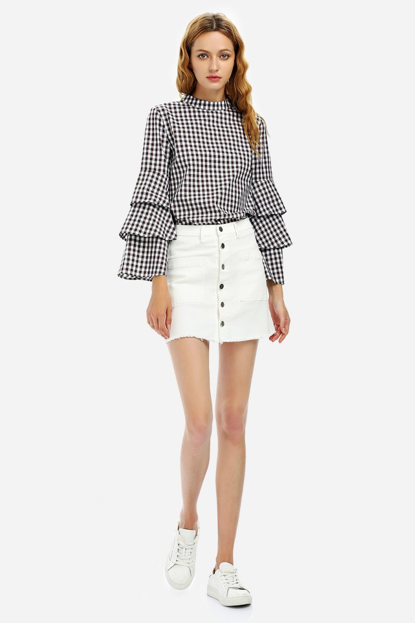 Summer 2017 must have from Zanstyle at Stylebest: vichy print
