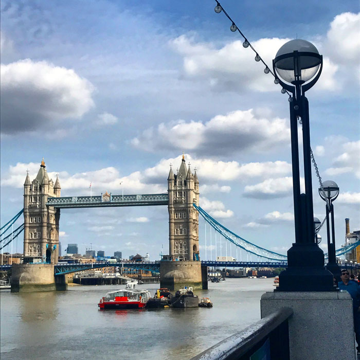 Visitare Londra, il quartiere del London Bridge
