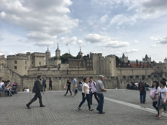 Visitare Londra, le Prigioni vicino al Tower Bridge
