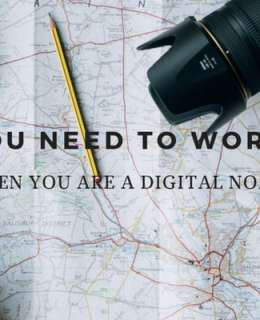 Traveling and working. While being a digital nomad does sound perfect, it actually comes with some challenges and here is how to overcome them