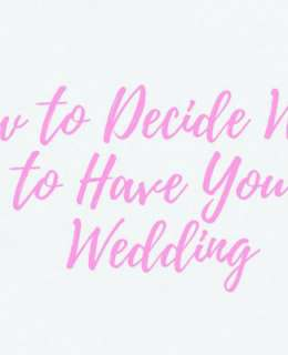 Of all the things about planning your Big Day that you have to decide on, the wedding venue is arguably the most important one. Here is some help!