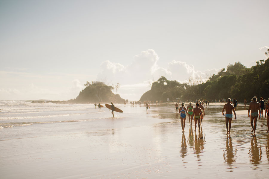 Byron Bay is a beachside town in Australia, popular among the spa lovers and surfers