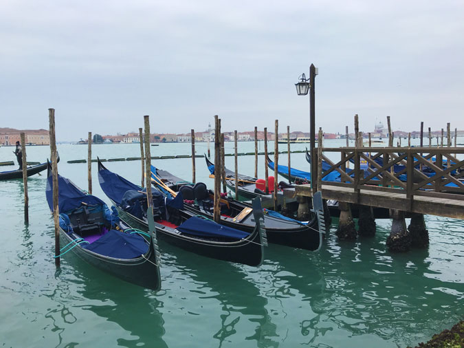 Weekend a Venezia: le gondole