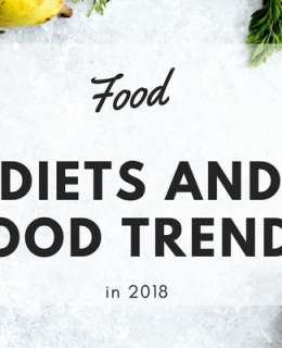 Diets and food trends in 2018 are big, they have maybe never been as big as in the last couple of years. You may be interested in learning what 2018 has in store when it comes to satisfying, healthy and delicious foods and drinks