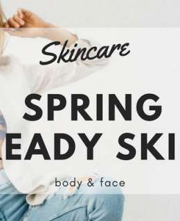 Goodbye Winter, hello new season! Be ready and stay with us to get some golden tips on how to get a perfect Spring ready skin