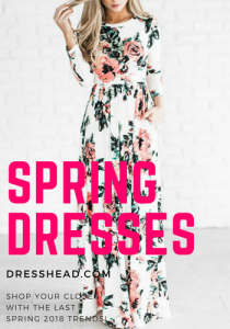 Spring dresses at Dresshead.com 2018
