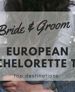 "If you are planning on taking your girls somewhere special on an European bachelorette trip, you've come to the right place. Here are some of the best places to take your girls and have loads of fun before you say ""I do""!"