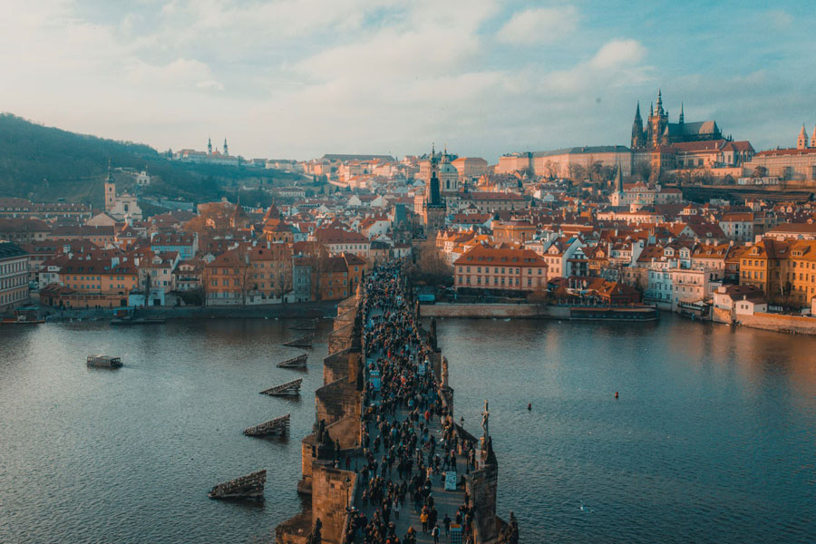 One of the best European bachelorette trip is definitely in Prague