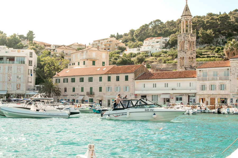 In Dalmatia time stops and that's why is perfect for a relaxing European bachelorette trip