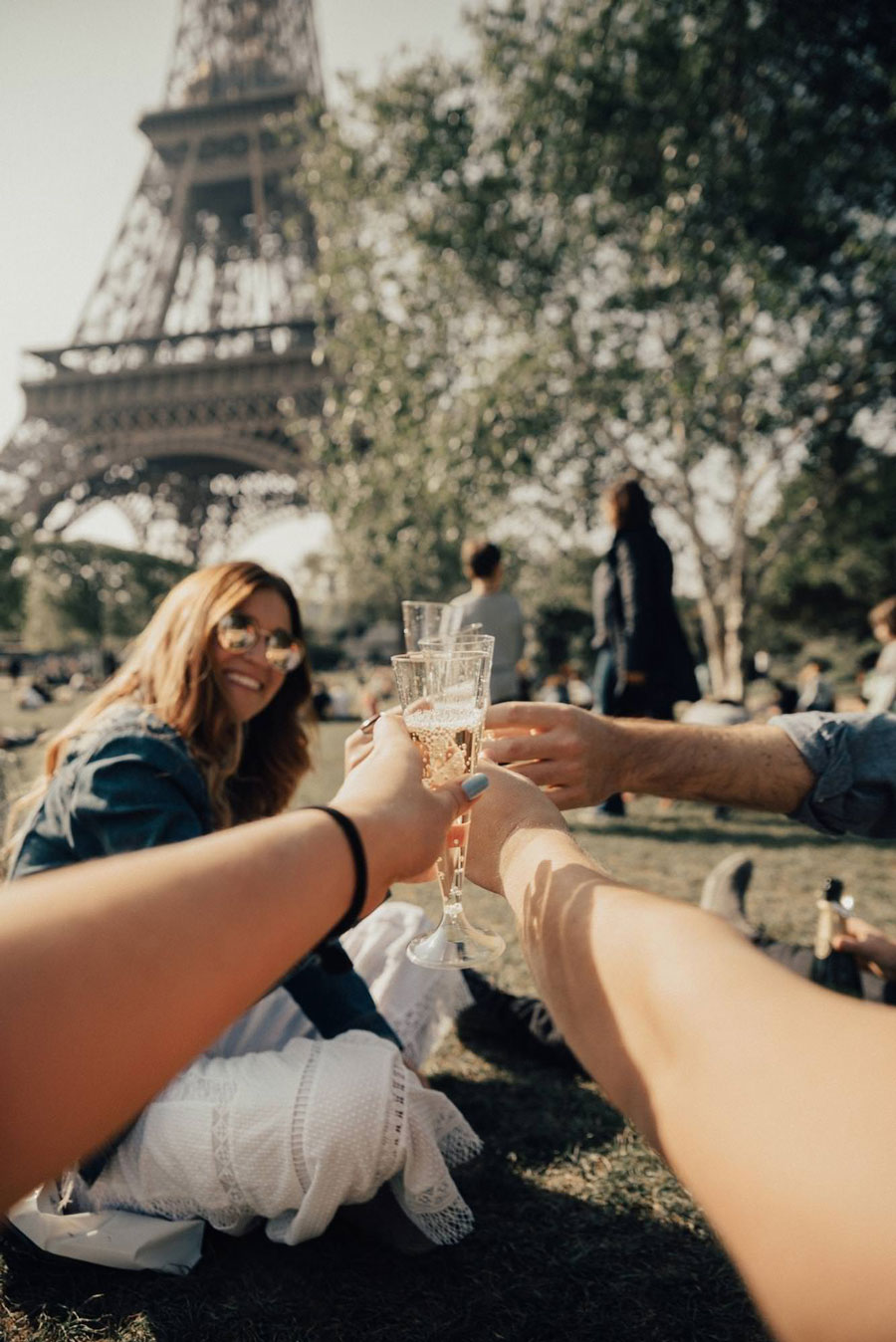 Paris is romantic and so perfectly in theme for your European bachelorette trip