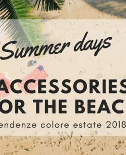 Summer's already here and you feel like your inventory is still missing a little something to really make you dazzle in the sunshine. Here are a couple of fab essential accessories for the beach for you to consider if you want to complete your look for the sandy runway