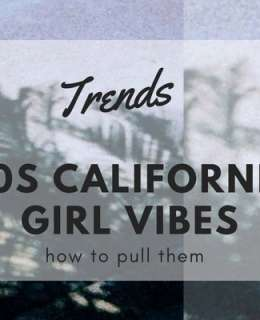 Times have changed, but the spirit of the 70s California girls still lives on and we now have plenty of opportunities to emulate their style