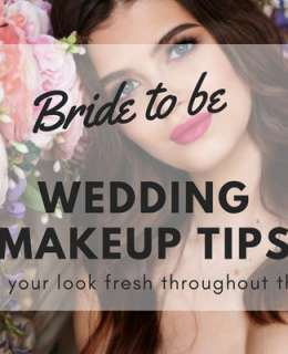 Wedding is coming and stress is everyday more persistent. Here you are some wedding makeup tips to keep your look fresh hroughout the whole day
