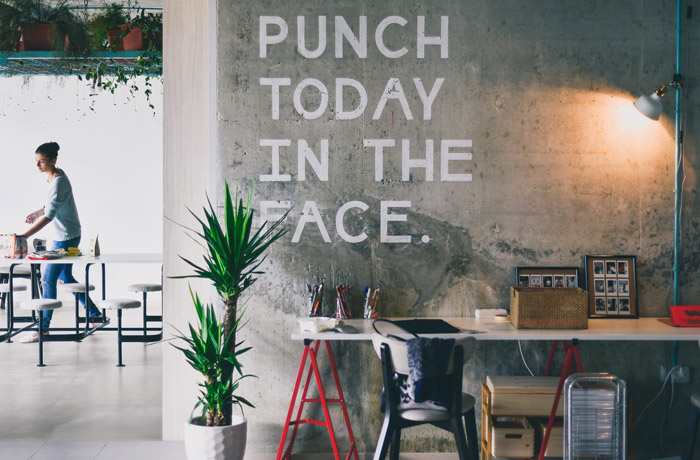 Share your idea and positivity to finally have a happy place at work